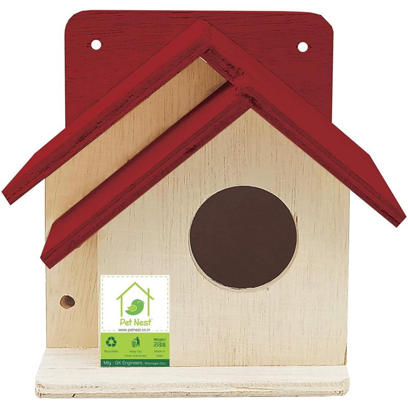 BackToNest Bird House Nest Box for Sparrow Best Return Gift for Kids DECO17